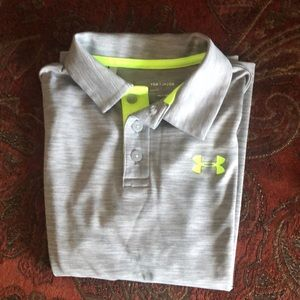 Under Armour kids polo in almost brand new